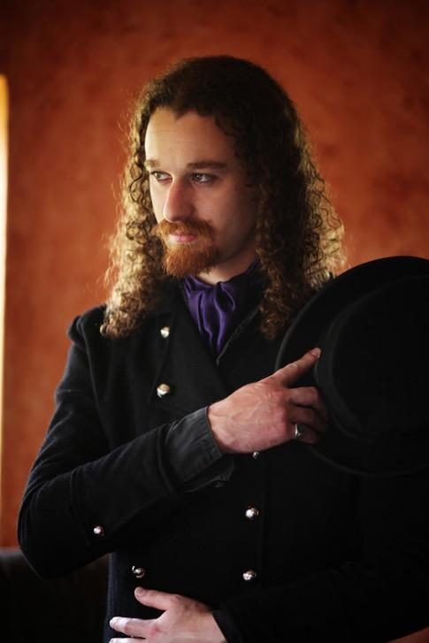 Portrait Steampunk victorien